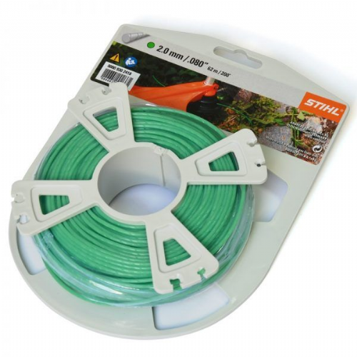 Genuine Stihl Trimmer line ROUND and QUIET (GREEN) 2.0mm x 62.0M Product Code 0000 930 2418